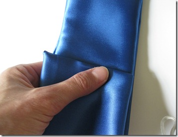 cobalt blue wedding ring bearer pillow and garter (12)