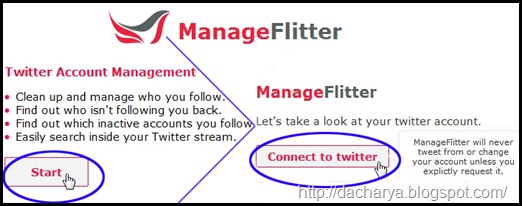 Twitter Manage
