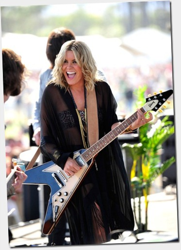 Grace Potter of the band Grace Potter and the Nocturnals