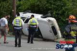 Overturned Vehicle Myrtle Ave & Church St (Photos by Meir Rothman & Moshe Lichtenstein) - DSC_0007.JPG