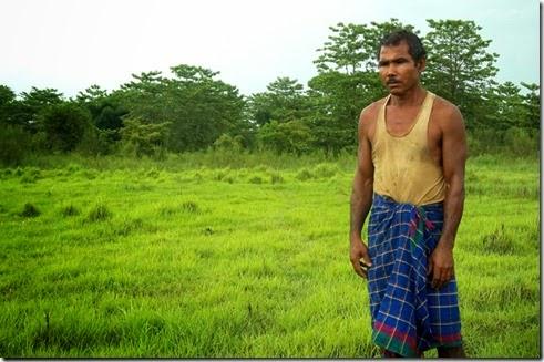 hobre hace un bosque, ecologia, naturaleza, india