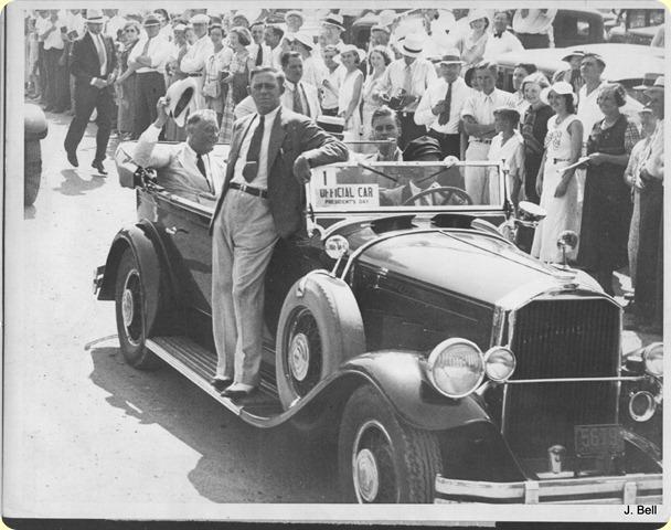 1934 HOH Driving Roosavelt