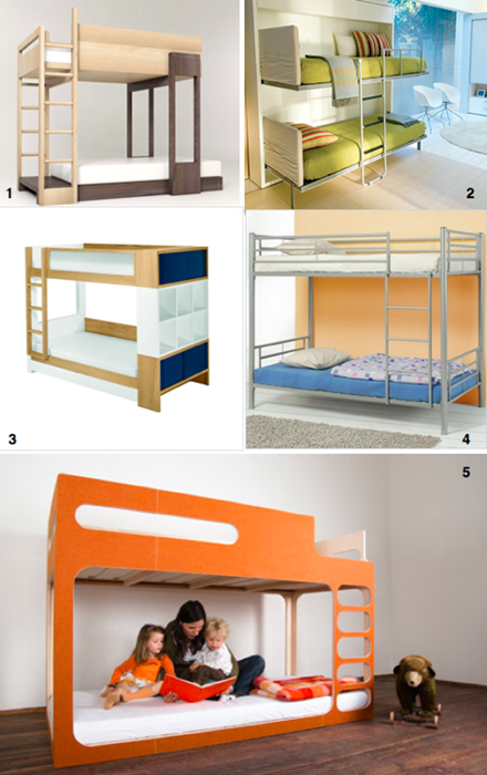 Mobiliarios para habitaciones de ni os arquitexs - Literas para ninos espacios pequenos ...