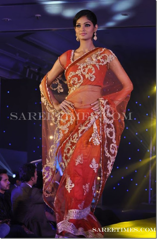Embroidery_Saree_Gitanjali_Fashion_Show