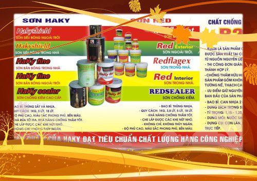 (Tân Đại Thịnh) - Sơn Haky - Sắc màu của phong cách! Bột trét tường HAKY MASTIC