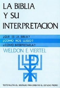 La biblia y su interpretación