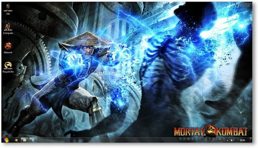 tema de Mortal Kombat para Windows 7