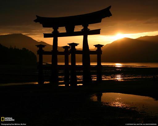 Miyajima Torii Japan Beautiful Landscape Photos