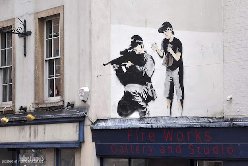 3risunki Bristol Graffiti Street Art