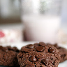 Gluten-Free Chocolate Chocolate Chip Cookies