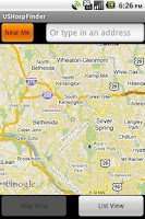 Screenshot of US Hospital Finder Android App