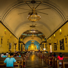 Minor Basilica of Manaoag by Anj GoNon - Buildings & Architecture Places of Worship ( minor basilica, building, shrine, church, indoors, manaoag )