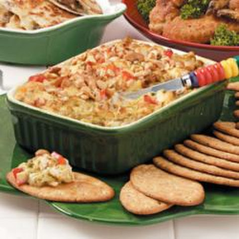 Warm Asparagus-Crab Spread