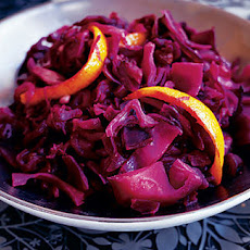 Red Cabbage And Preserved Lemon Tagine