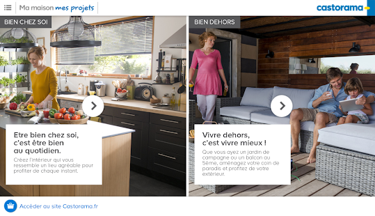 Download ma maison mes projets apk on pc download for Application castorama