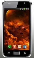 Screenshot of Galaxy Inferno live wallpaper