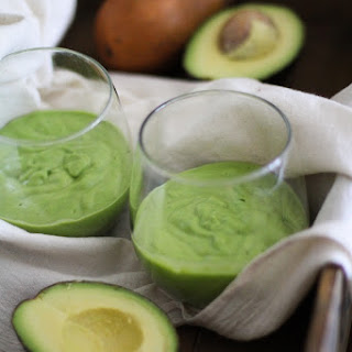 Pear Avocado Ginger Smoothie