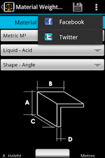 Material weight calculator pro free android app market for Material calculator for house