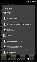 Screenshot of ZArchiver