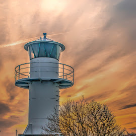 The lonely lighthouse by Peter Björklund - Buildings & Architecture Other Exteriors