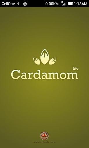 Cardamom : Send vCards via SMS