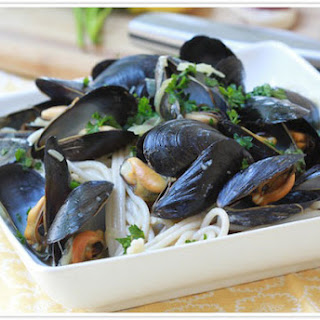 Mussels Pasta Butter And Garlic Recipes