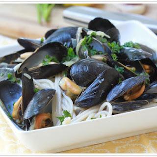 Garlic Mussel Pasta Recipes