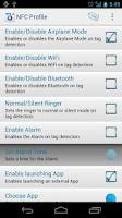 Screenshot of NFC Profile