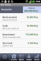 Screenshot of Rise Money Free