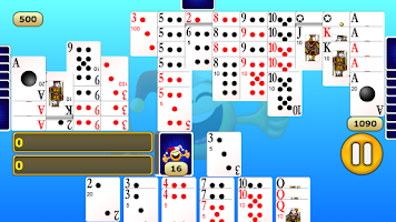 Screenshot of Canasta
