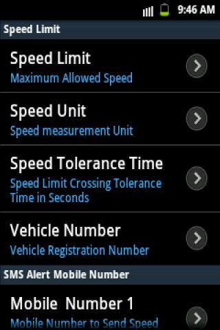 Speed Limit Alert - screenshot