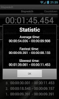 Screenshot of Stopwatch & Countdown Timer