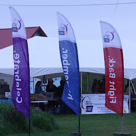 Relay For Life Banners by Ernie Easter - News & Events Health (  )