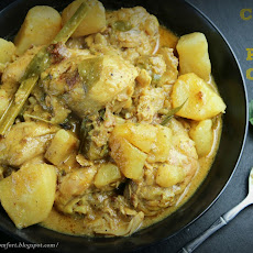 Mild Chicken and Potato Curry