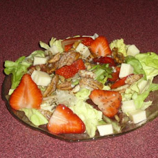 Strawberry Salad With Monterey Jack