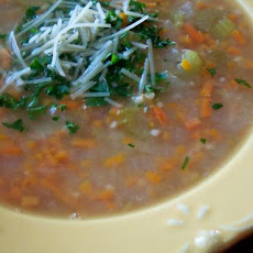 White Bean and Rosemary Soup