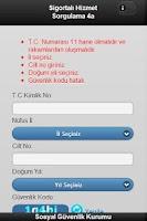 Screenshot of SGK Hizmet Dökümü 4a