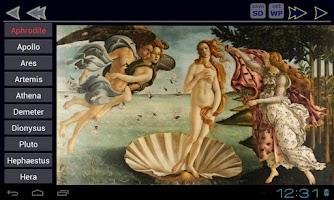 Screenshot of Greek Mythology Immortals