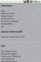 Screenshot of Hacettepe Yemekhane