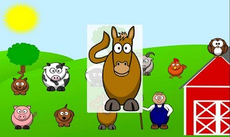 Screenshot of Farm Animals Free