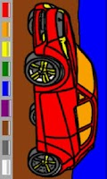 Screenshot of Cars Coloring Book for Kids