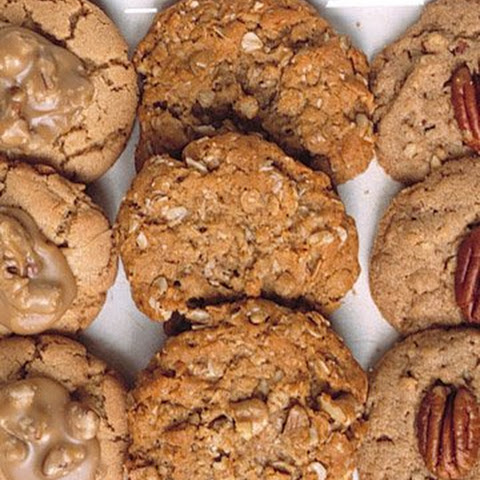 Maple-Walnut Oatmeal Cookies
