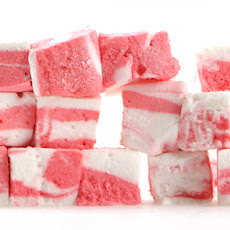 Pink Peppermint Swirl Marshmallows