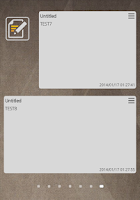 Screenshot of Secret MEMO (Memo Widget)