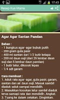 Screenshot of Resep Kue Mama