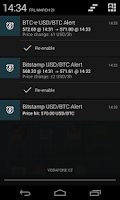 Screenshot of Bitcoin Alert