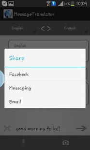 Message Translator- screenshot