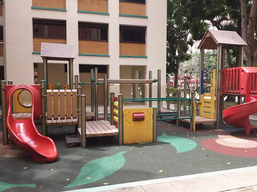 Children's Playground At Blk 166