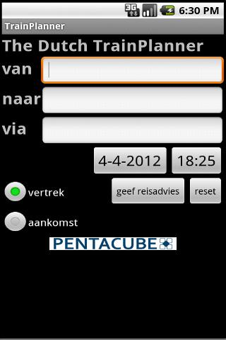 The Dutch Trainplanner