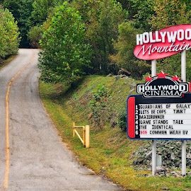 Hollywood on the hill by Paul Brumit - News & Events Entertainment ( life, movies, street, theater, still )